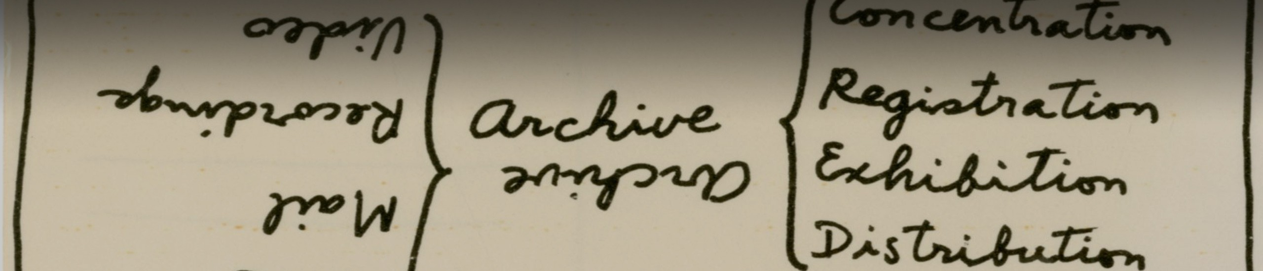 Ulises Carrión: <i>Archive</i>, s. a. [¿1979?]
